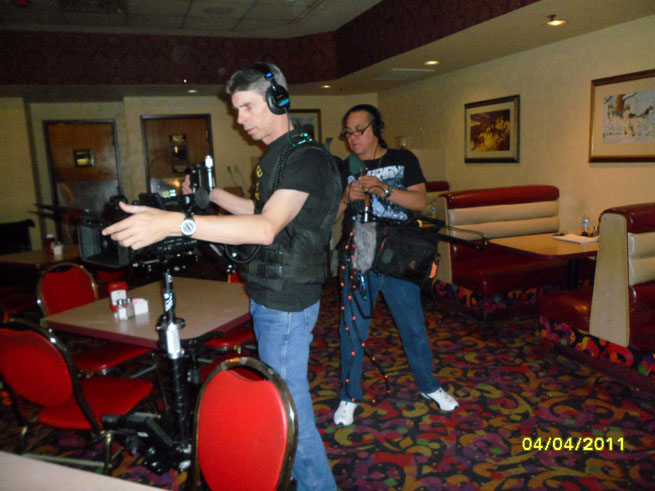 Bob Massey Filming